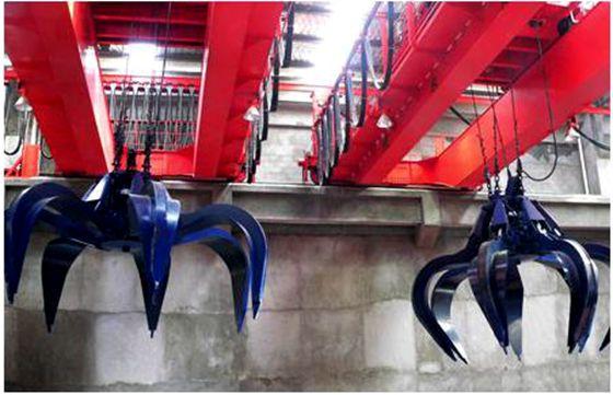 Double Girder Model QZ Universal Bridge(Overhead) Grab Bucket Crane