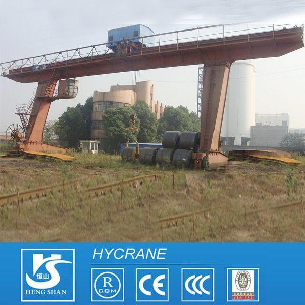 MDG(L) Model Single Beam Harsh Work Type Gantry Crane