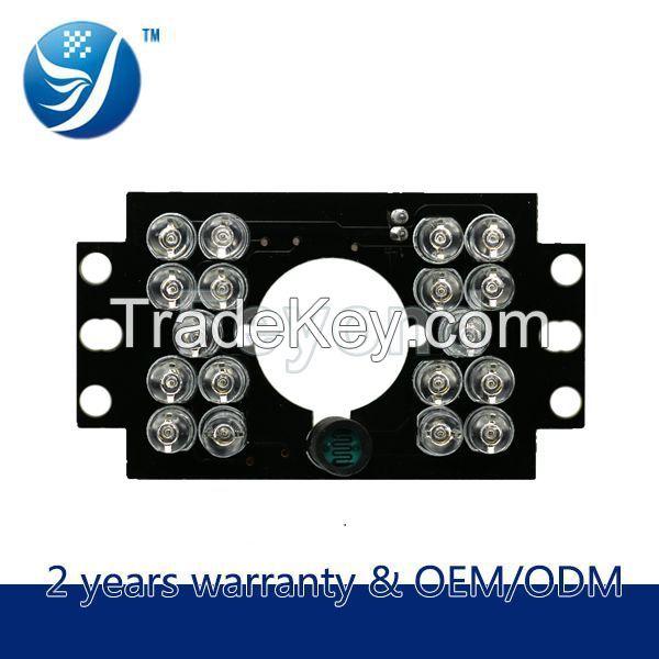 18 pcs ir cctv led light of car CCTV Camera