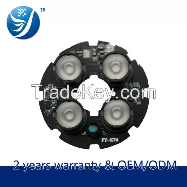 4 Leds Ir Array Led Board With 850nm led(CCTV Camera Used)