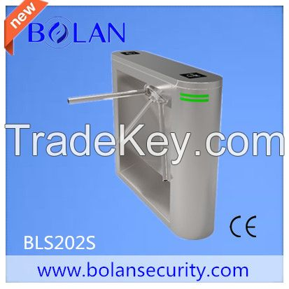 304 Stainless steel access control tripod turnstile gate