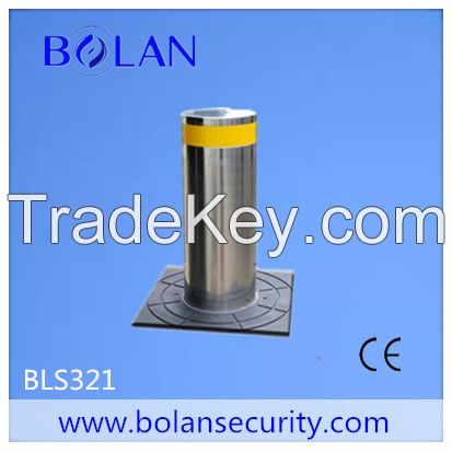 Vehicle access high security automatic hydraulic rising bollard