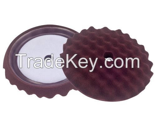 Germany Foam professional Convoluted Waffle compounding Pad JH-008-8.5CMB