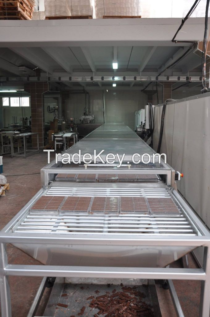 Trapez Machinery Chocolate Injection Line