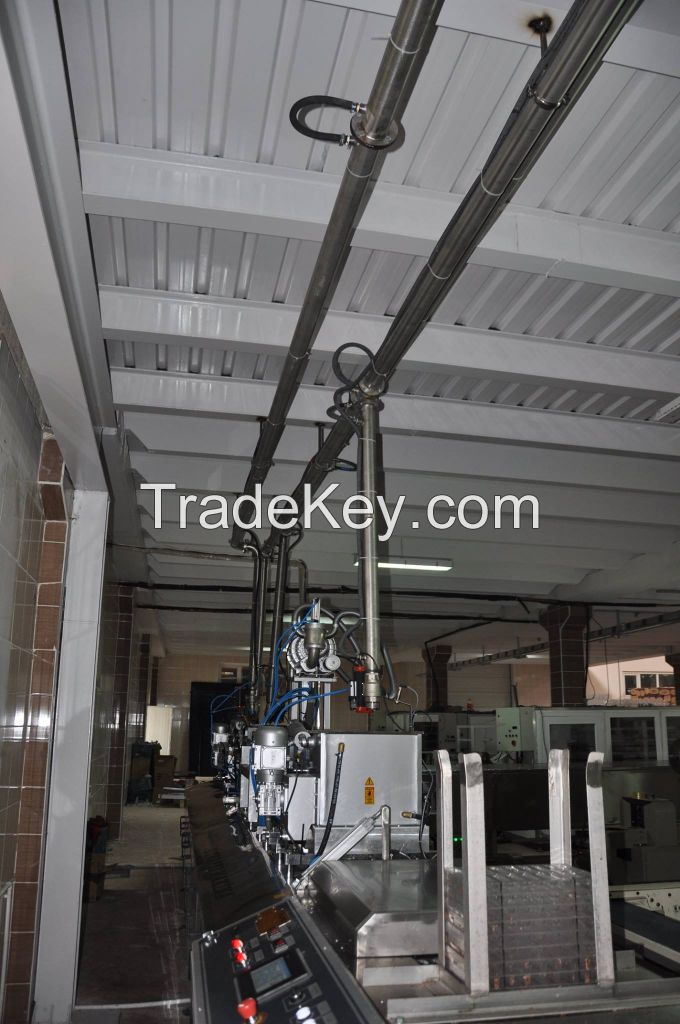 Trapez Machinery Chocolate Injection Line 3