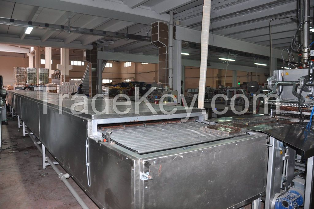 Trapez Machinery Chocolate Injection Line 6