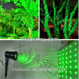 single green static firefly garden laser for outdoor garden light