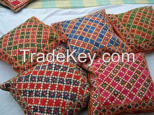 handicraft bed sheet