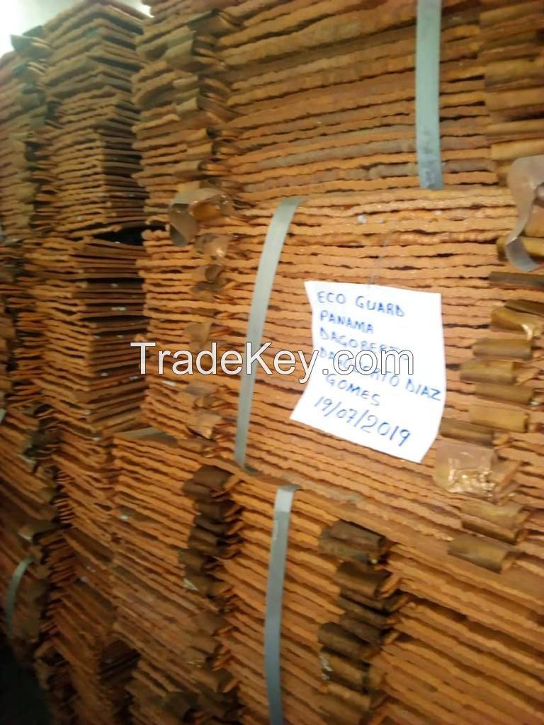Cathodes copper