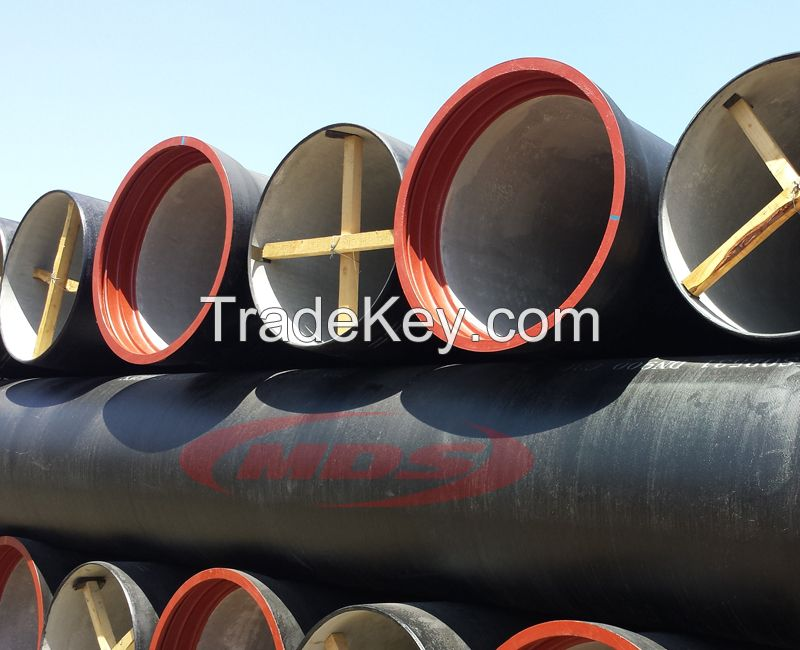 ISO2531, EN545, EN598, BS4772 ductile iron pipe