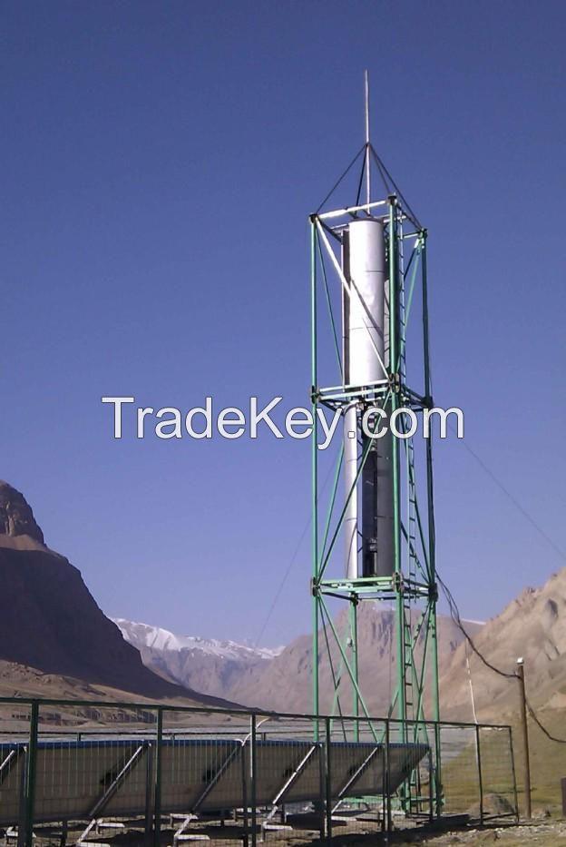 VERTICAL WIND TURBINE 1-50 kW