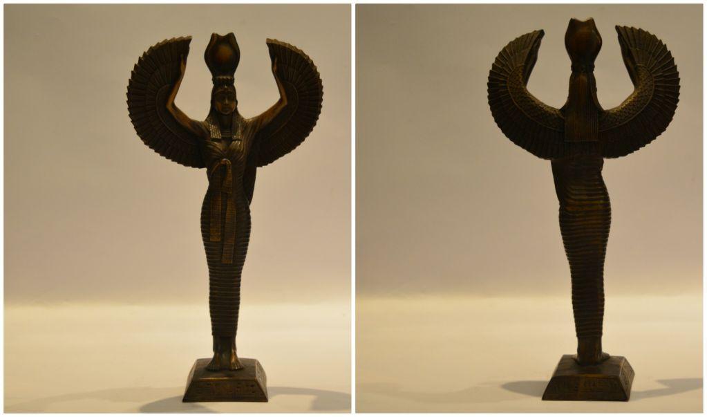 Statue- Maat Statue-Standing MHandmade Goddess Ma'at aat Statue
