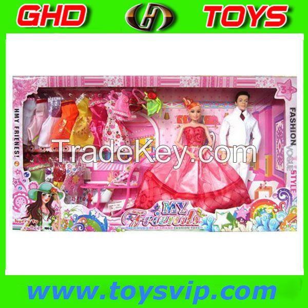 11 Inch Beauty Fashion Dolls set
