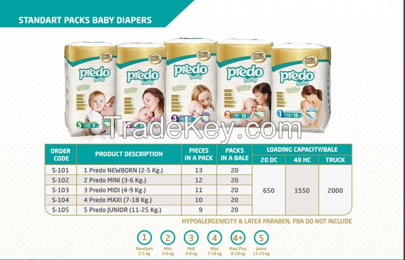 PREDO BABY DIAPERS