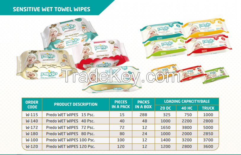 PREDO WET WIPES