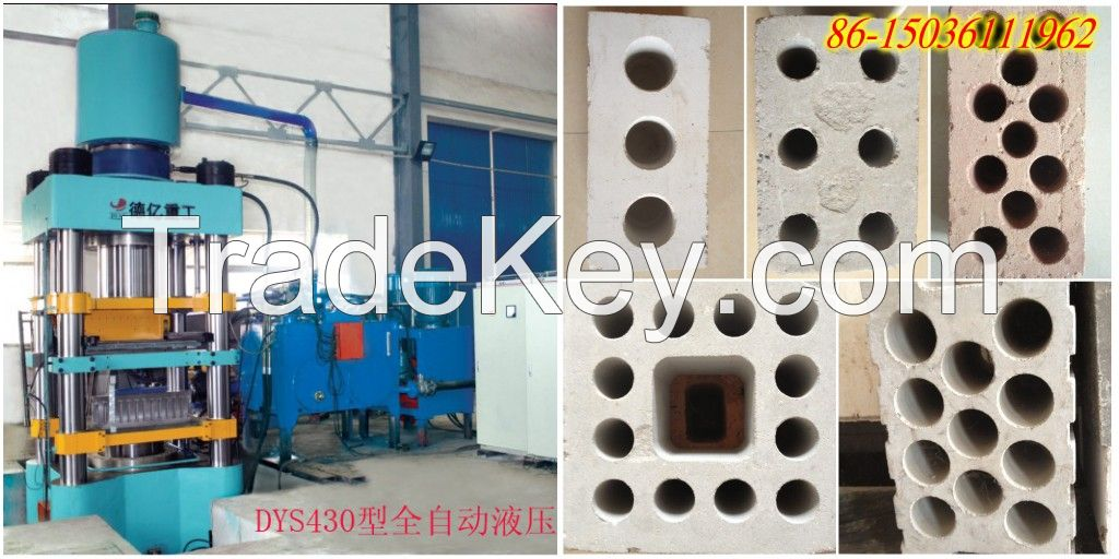 DEYI DYS Series Hydraulic Method  Hollow Brick Type Brick Making Machine