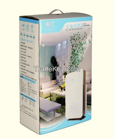 Electrical portable air purifier filter PM2.5 dust collector ZZ-120