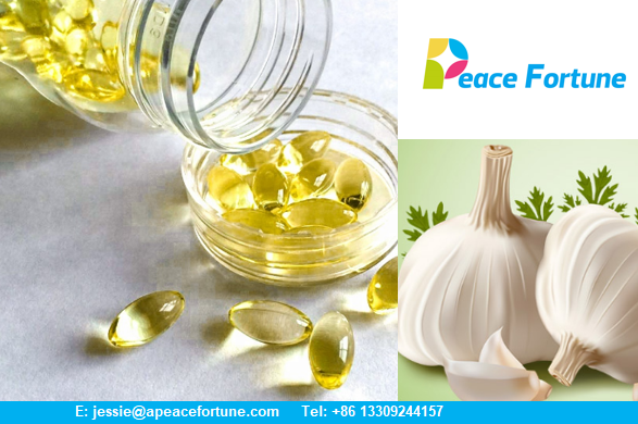 Raw Materials Garlic Oil Softgel To enhance immunity