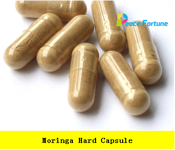 Pure Moringa leaves powder 400mg hard capsule