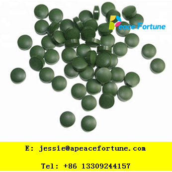 OEM service dietary supplement spirulina tablet