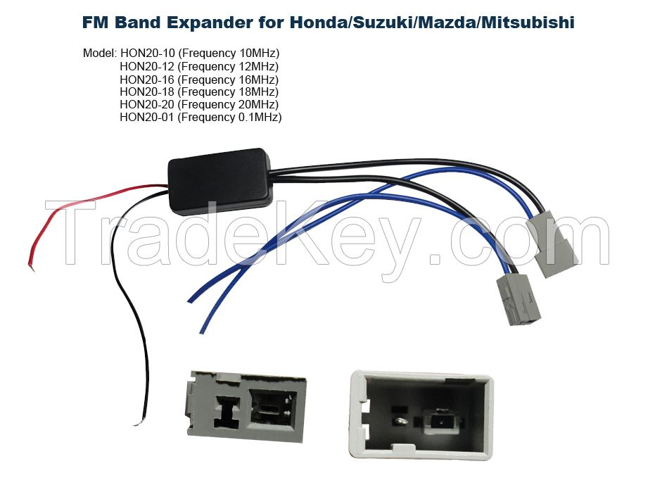 FM Band Expander Convert Honda Car Radio to Worldwide Frequency Up to 108MHz