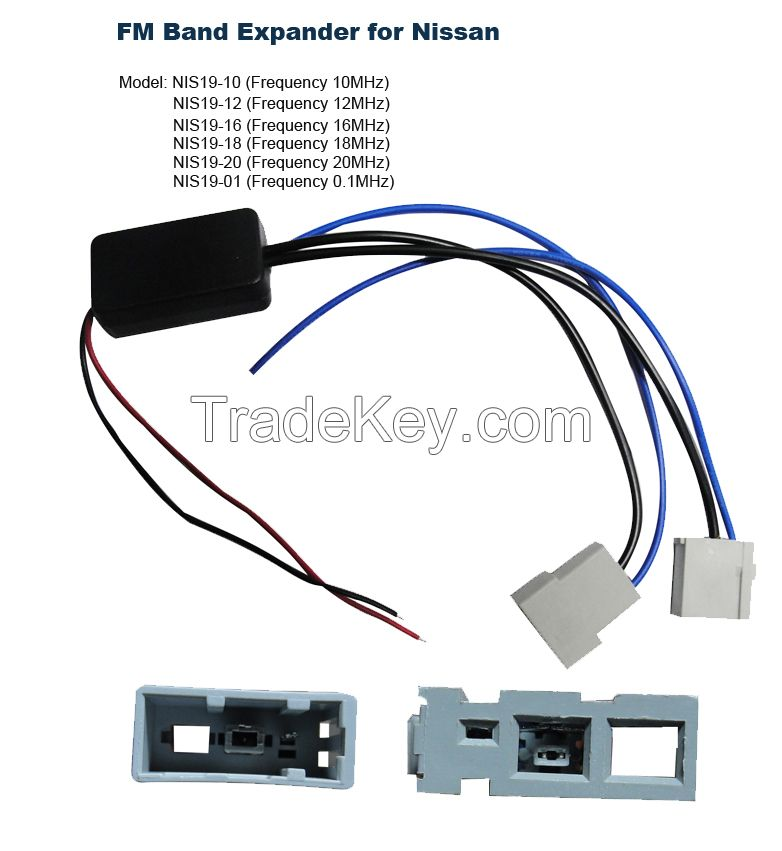 FM Band Expander Convert NISSAN Car Radio to Worldwide Frequency Up to 108MHz
