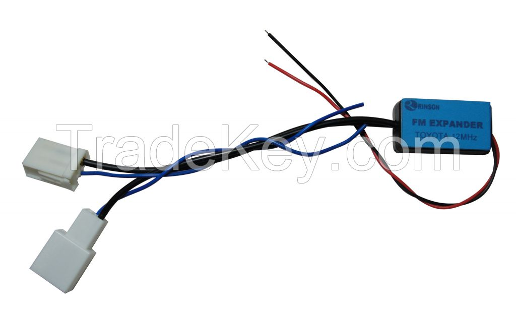 18MHz FM radio band expander frequency shifter converter for toyota