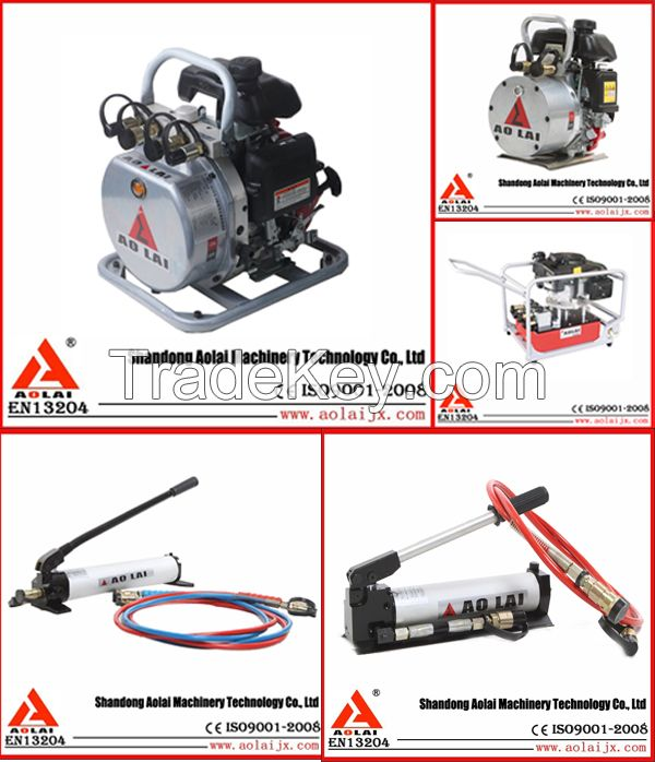 powered hydraulic rescue motor pump