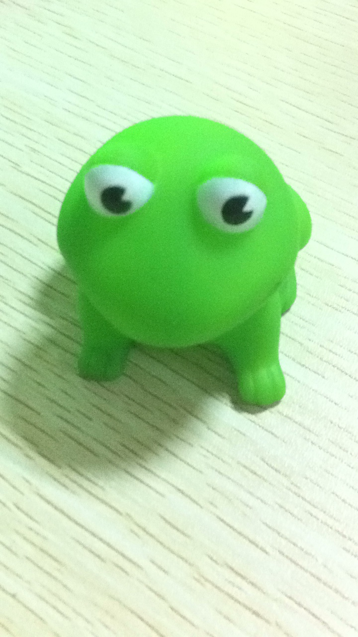 environment rubber frog toy