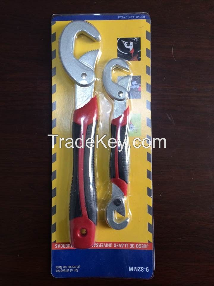 Adjustable Quick Snap'N Grip Wrench Universal Wrench