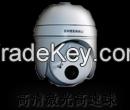 Integrated laser night vision CCTV