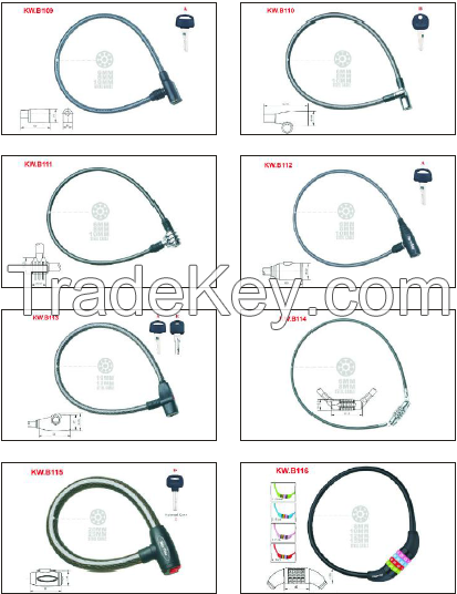 Cable Lock For Bicycle