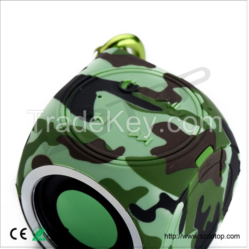 2015 NEW Super bass IPX7 Waterproof Bluetooth Speaker with hands free function