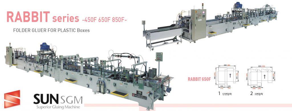 Folder Gluer Machine RABBIT Series 650F