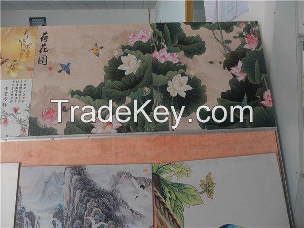 lastest popular glass moving door uv printer, ceramic tile uv printer price