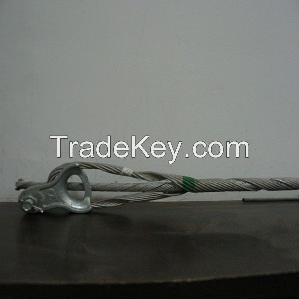 Preformed Guys wire tension clamp set