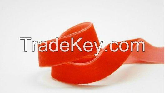 100% nylon velvet ribbon