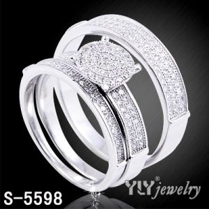 Sterling Silver Pave Women's Ring Hot Sale