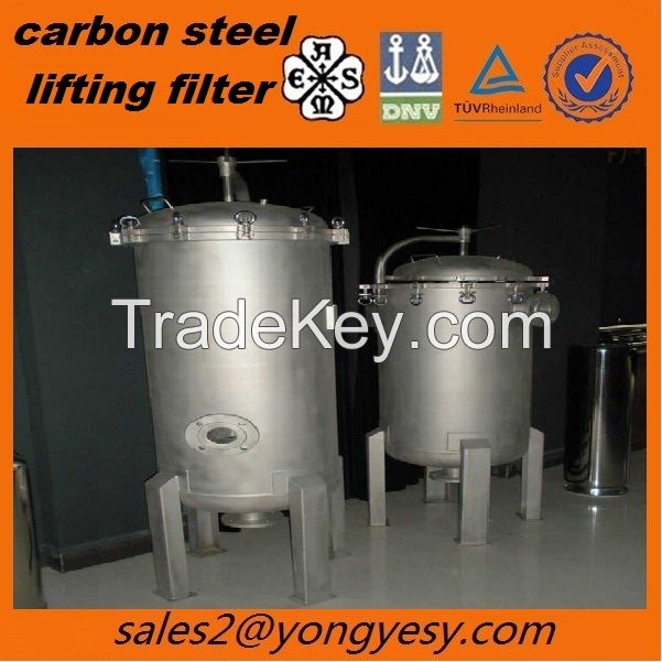 ASME CS/SS filter used in oil field/petrochemical