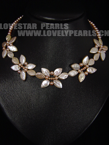 Fashion Style Pearl Necklace