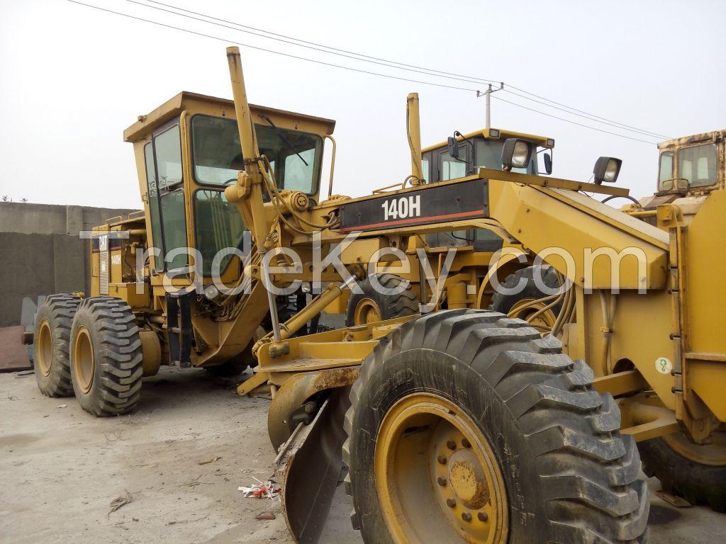 Used Caterpillar 140g, 140h, 12g, 120h, 120g, 16g Motor Grader, Used 140g motor grader
