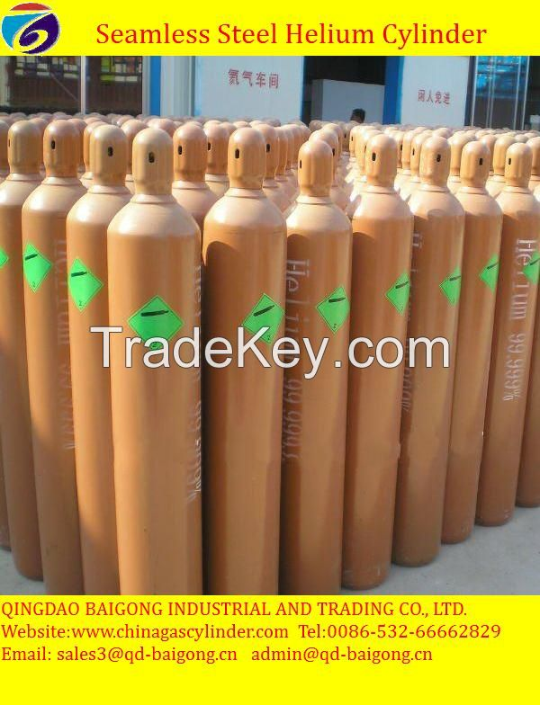 High Pressure and Steel Material empty gas cylinder
