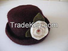 Wool felt items