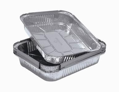 high quality aluminium foil trays for food packaging