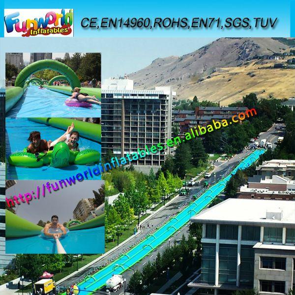 2014 Giant Inflatable Slip Slide, Inflatable City Slide For Sale