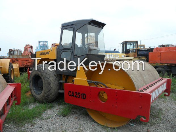 Used Road Rollers DANAPAC CA251D
