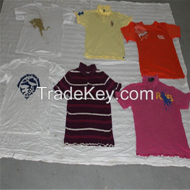 Top Quality Used Clothes/ Used T-Shirts/ Second Hand T-Shirts