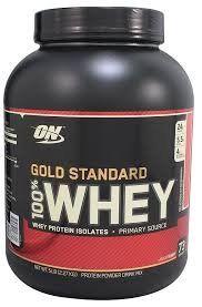100% Gold Standard Optimum Nutrition Whey Protein