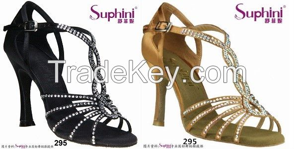 Soft sole ballroom shoes for women , professional Latin dance Shoes