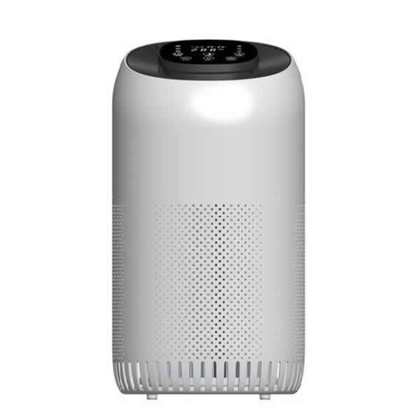 Tower Air Purifier Combined Pre-filter, HEPA and Carbon filter, Timer, Sensor, Air Quality Indicator CADR90